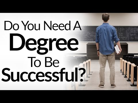 chances of being successful without college degree